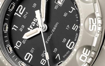 tytanowy zegarek taktyczny P49 Special Force marki traser
