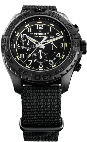 zegarek-traser-108680-P96- OdP-Evolution-Chrono- Black-NATO-day