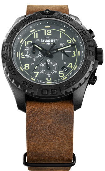 zegarek-traser-109045-P96-OdP-Evolution-Chrono-Grey-leather-NATO-day
