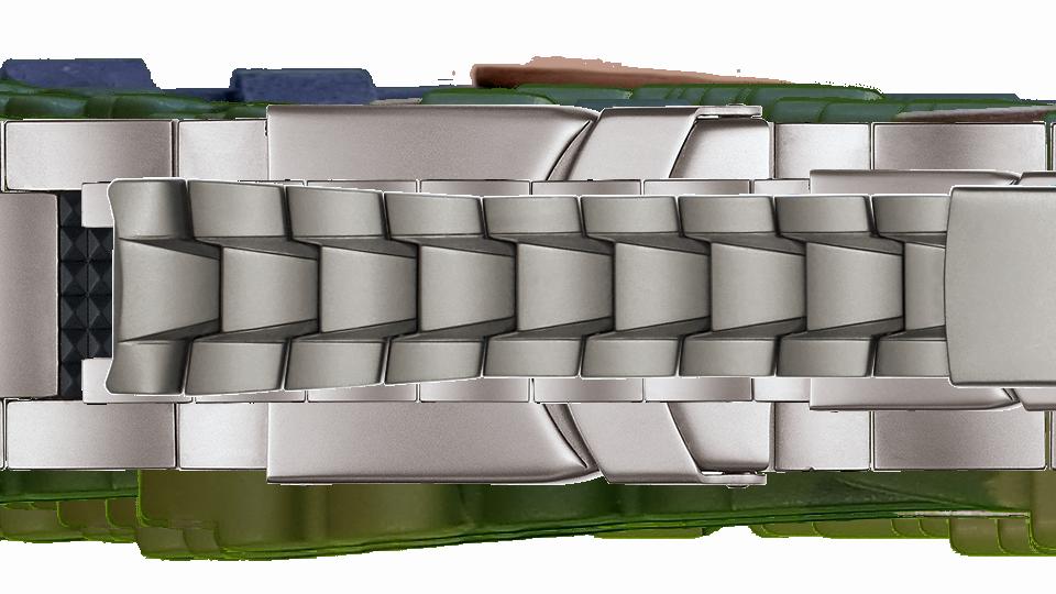 tytanowa bransoleta do zegarka marki traser P49