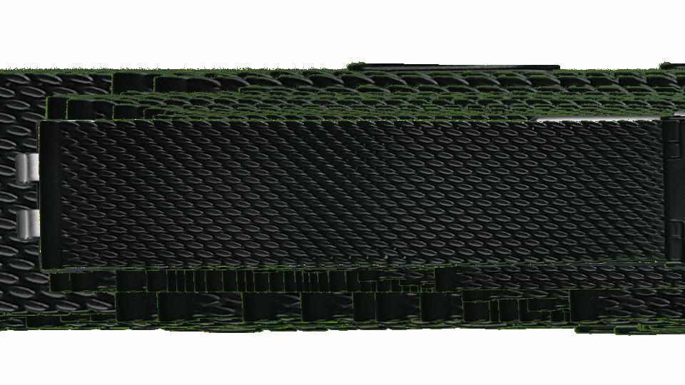 czarna bransoleta stalowa typu mesh do zegarka P59 Essential marki traser