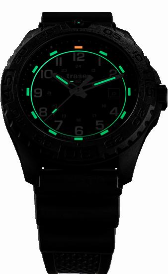 zegarek-traser 108672-P96-OdP- Evolution-Black-rubber-evening