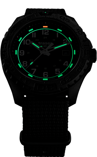 zegarek traser 108673_P96 OdP Evolution Black_NATO_evening