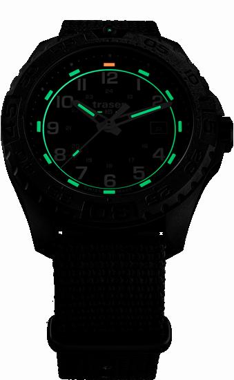 zegarek traser 108673_P96 OdP Evolution Black_NATO_evening