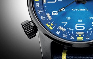 taktyczny zegarek traser P68 Pathfinder Automatic blue