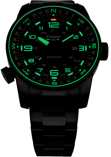 zegarek-traser-P68-PF- Automatic-black-soldier-evening