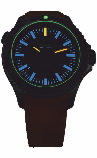 zegarek_traser_P67_diver_automatic_T100_grey_yellow_rubber_strap_110331_wieczór