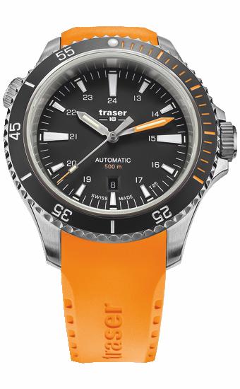 zegarek_traser_P67_diver_automatic_black_orange_rubber_strap_110323_dzień