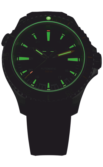 zegarek_traser_P67_diver_automatic_green_black_rubber_strap_110326_wieczór